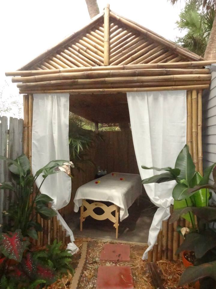 Bamboo Massage Room